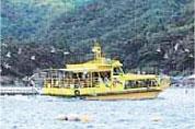 巡游伊根湾游览船