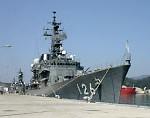 The Pier of Japan Maritime Self-Defense Force (JMSDF)